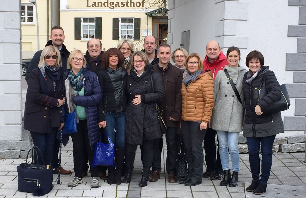 Besuch aus Bages Dezember 2016