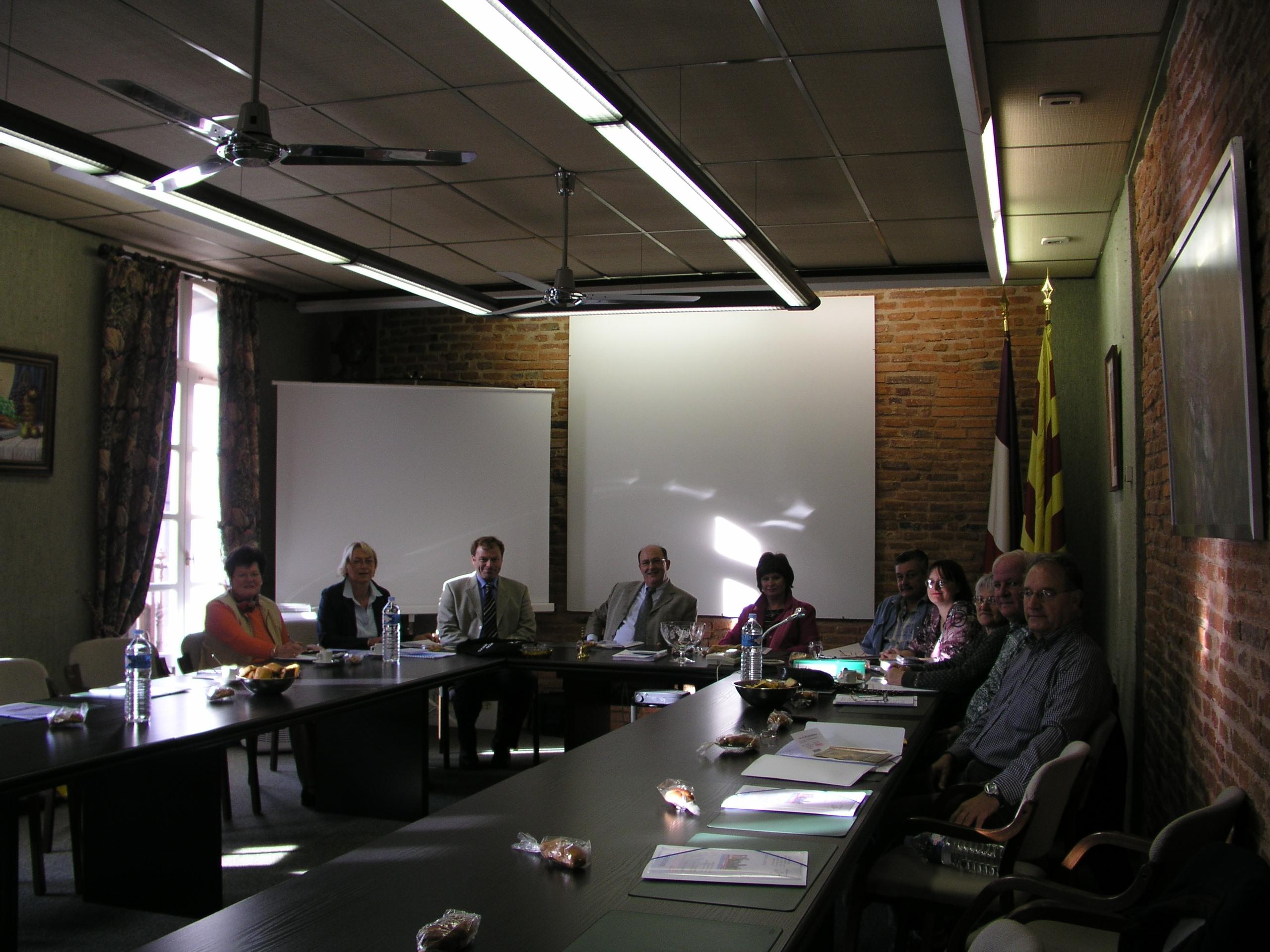 Arbeitskreis Städtepartnerschaft - Sitzung in Bages