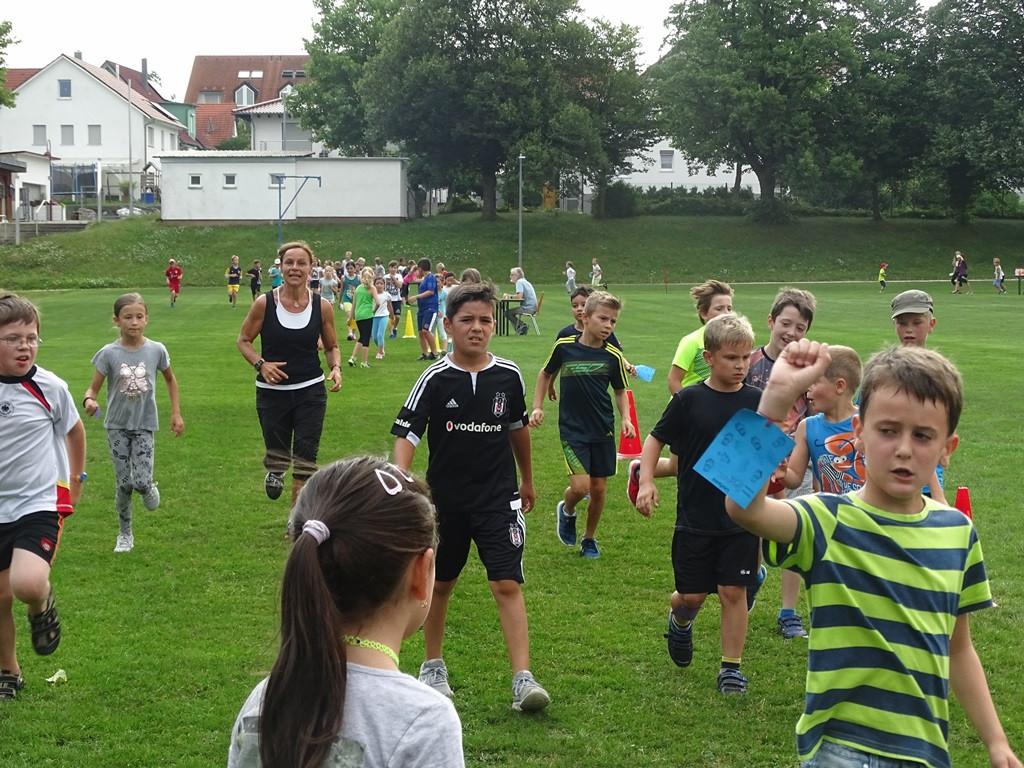 Sponsorenlauf 2017 - Grundschule Niederstotzingen