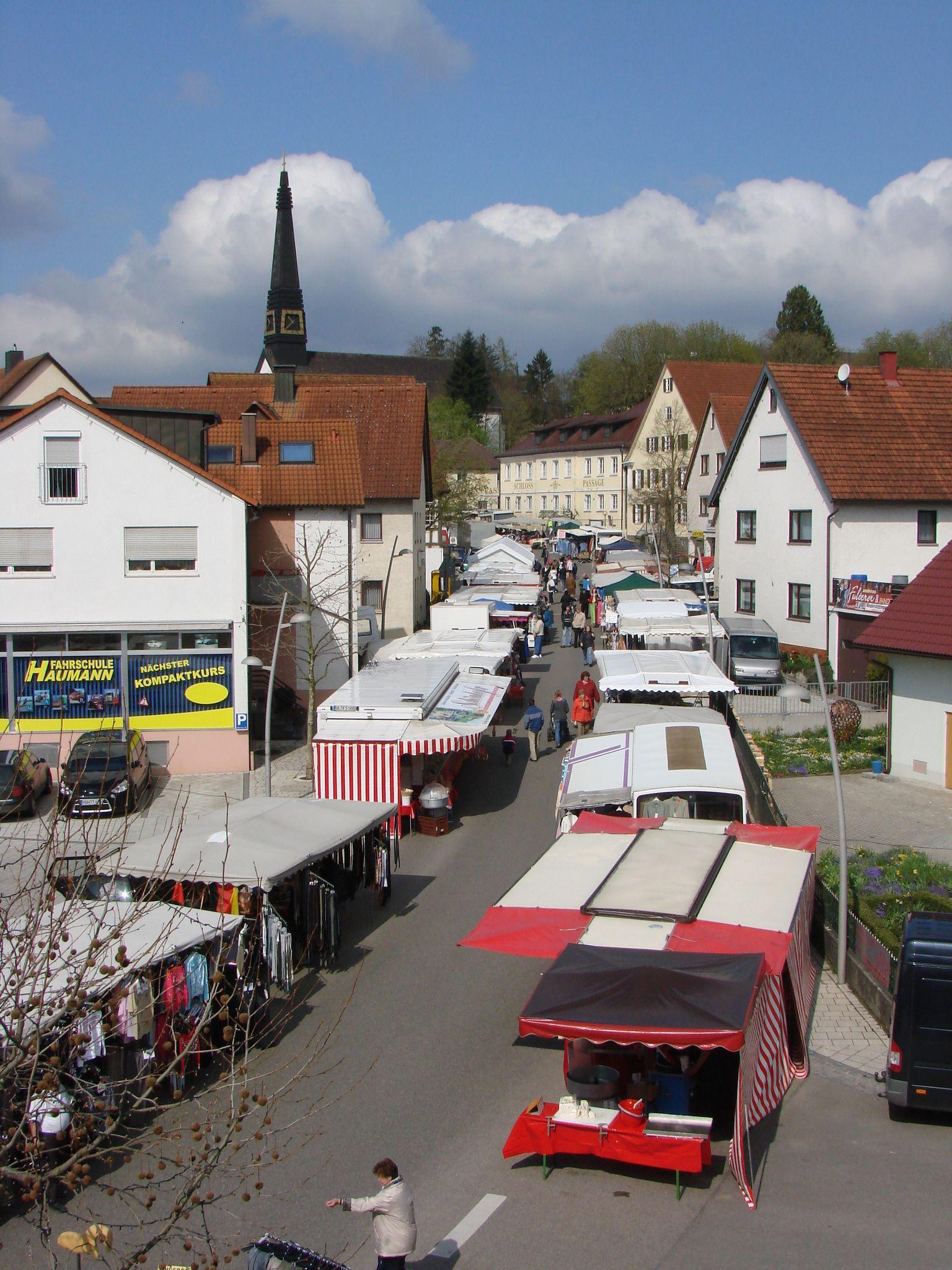 Markt in Niederstotzingen