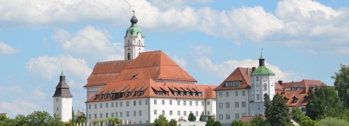 Günzburg Kloster mit Frauenkirche
