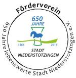 Logo Förderverein 650 Jahre lebenswerte Stadt Niedersotzingen e.V.
