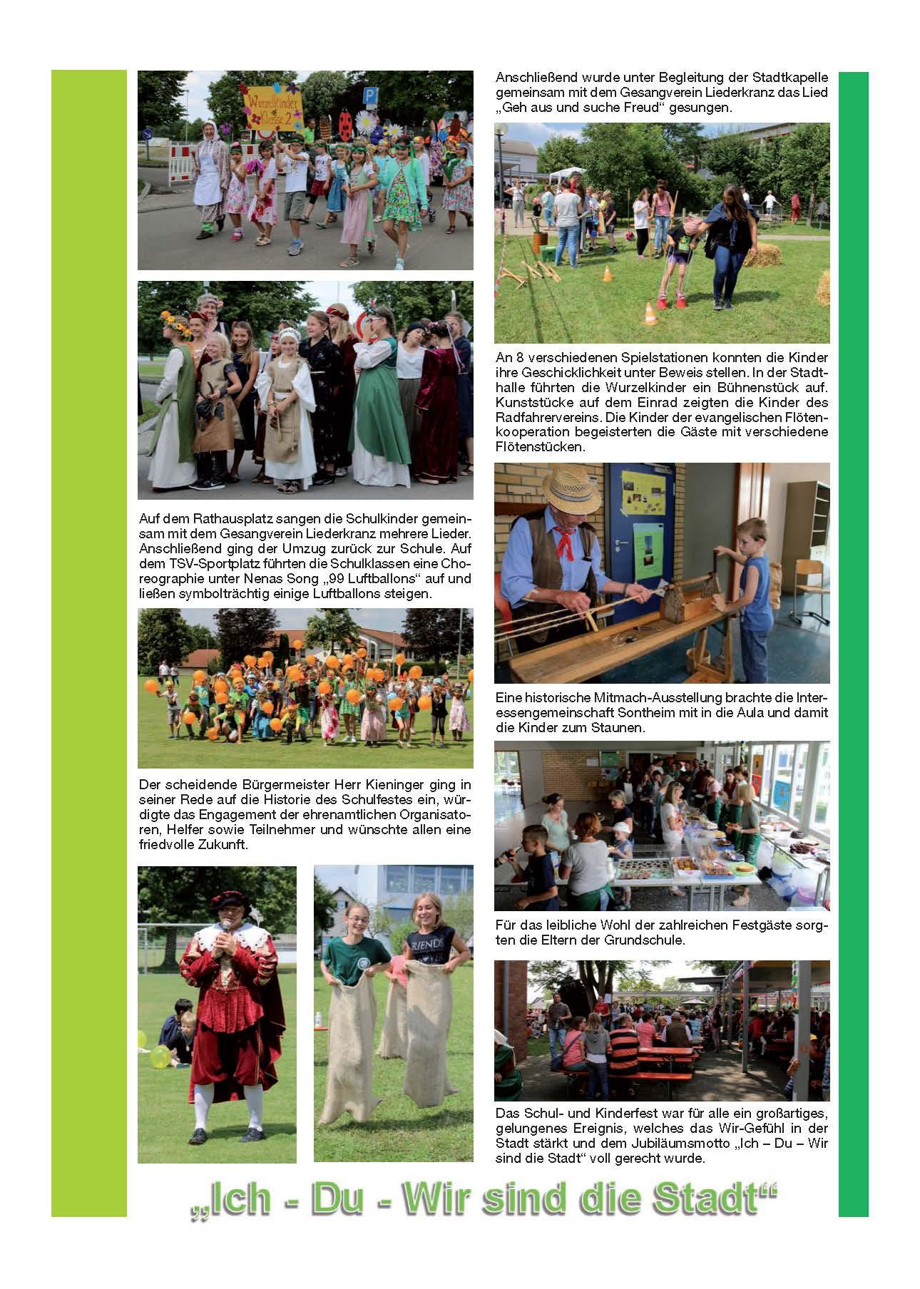 Rückblick Historisches Kinderfest am 16.07.2016 Seite 2