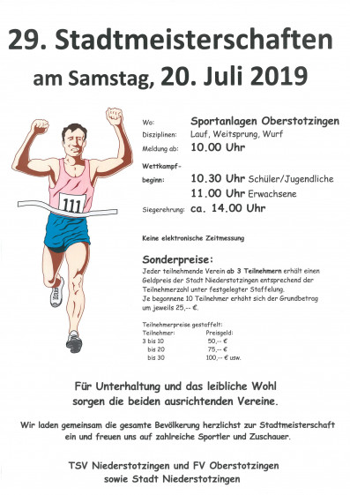 Stadtmeisterschaften 2019