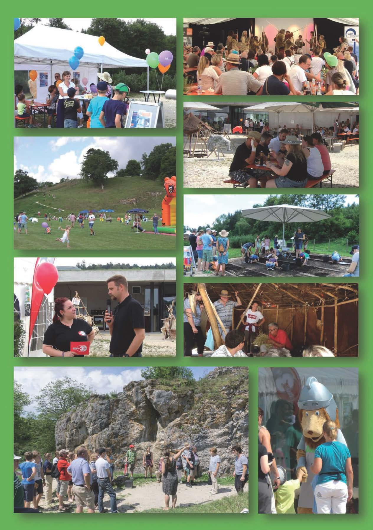 Rückblick Sommerfest im Archäopark 22. Juli 2017