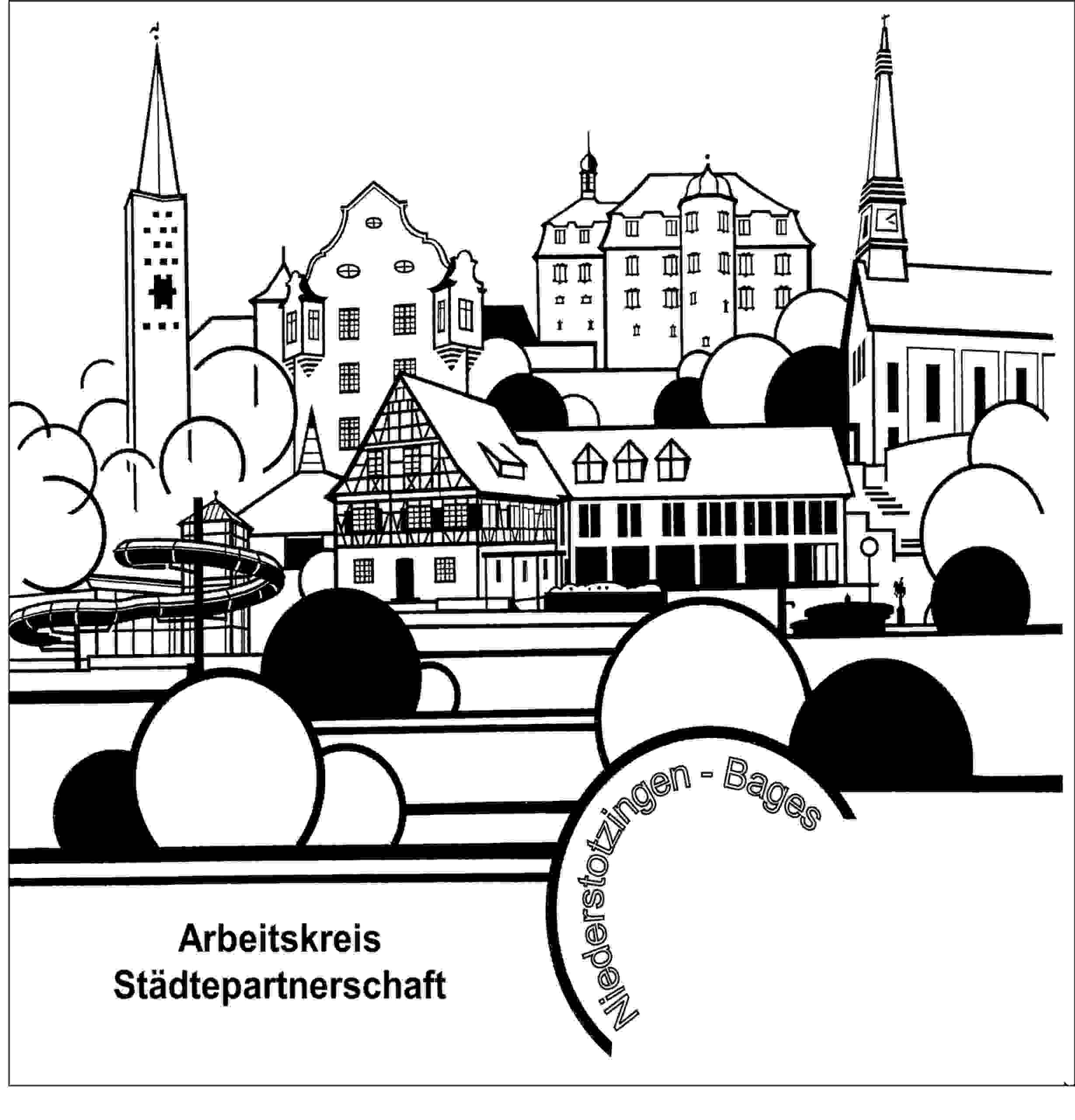Arbeitskreis Städtepartnerschaft Logo