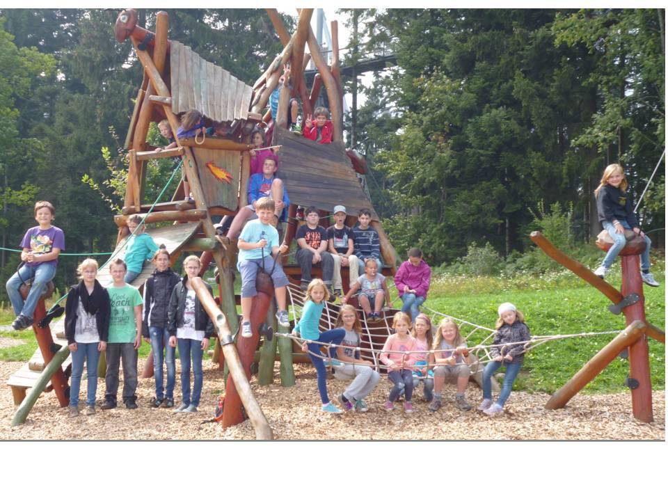 Kinderferienprogramm Gruppenbild 2012