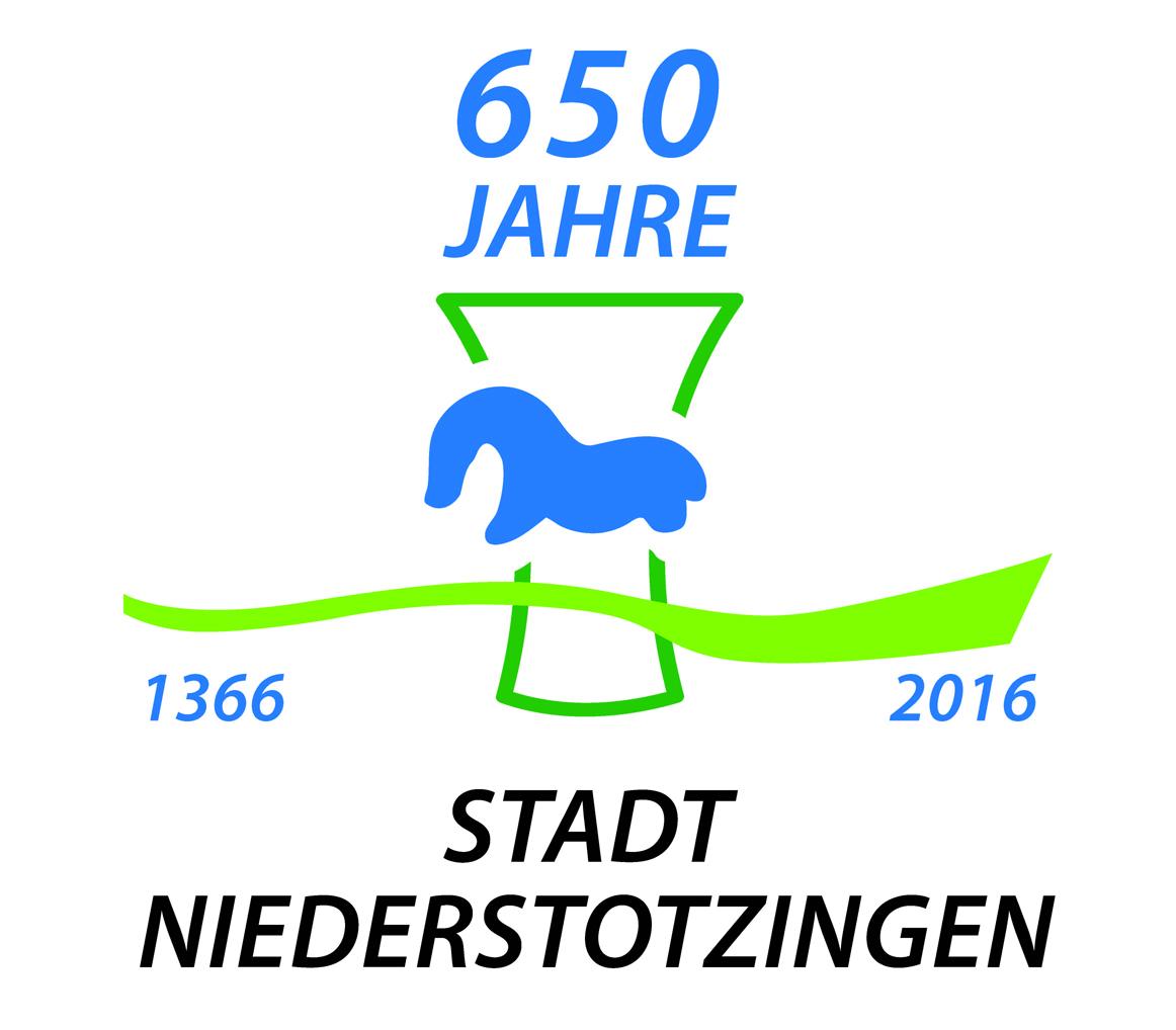 Logo - 650 Jahre Stadt Niederstotzingen