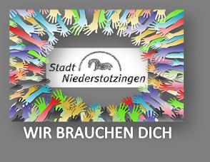 Logo Stadt Niederstotzingen Hände