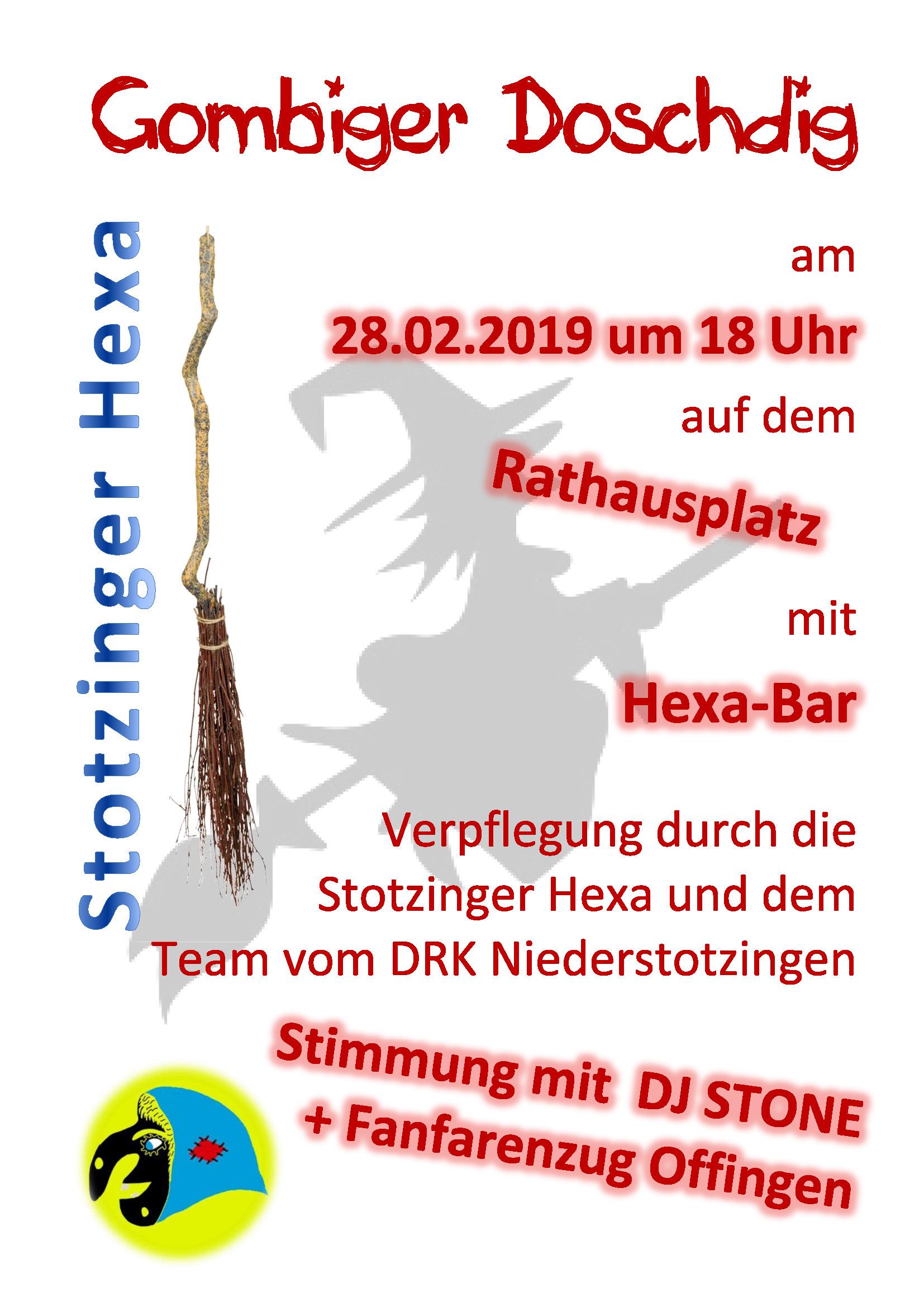 Gombiger Doschdig 2019 - Stotzinger Hexa