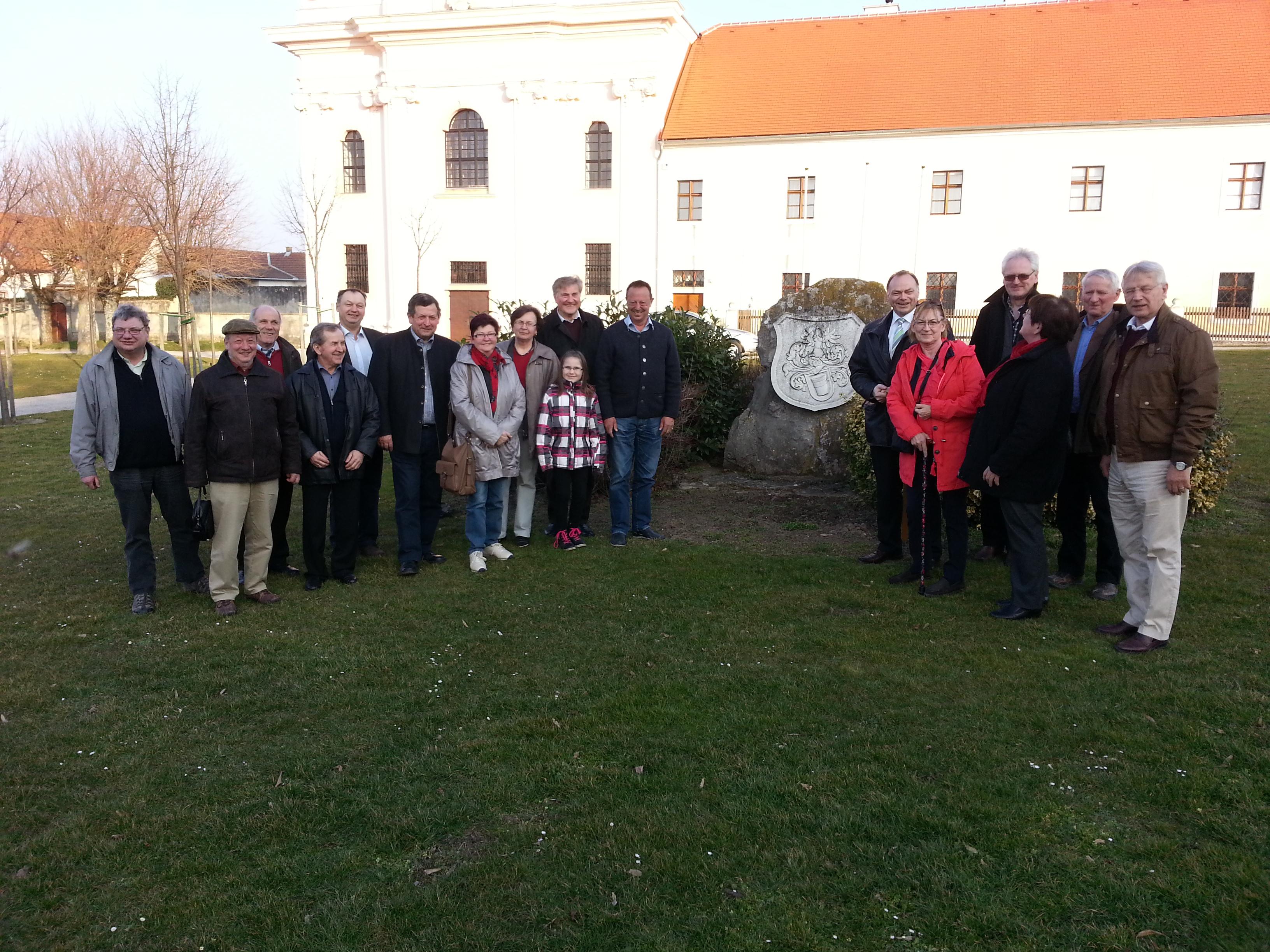 Besuch in Stotzing im Burgenland Maerz 2014