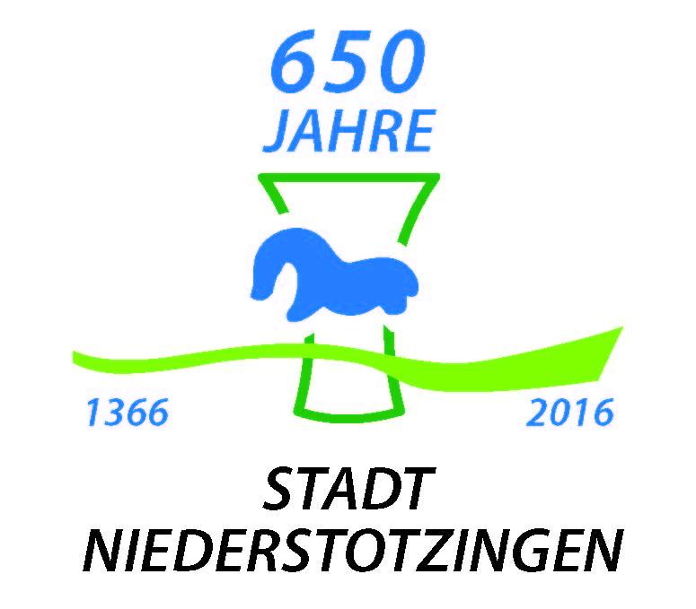 650 Jahre Stadt Niederstotzingen - Logo