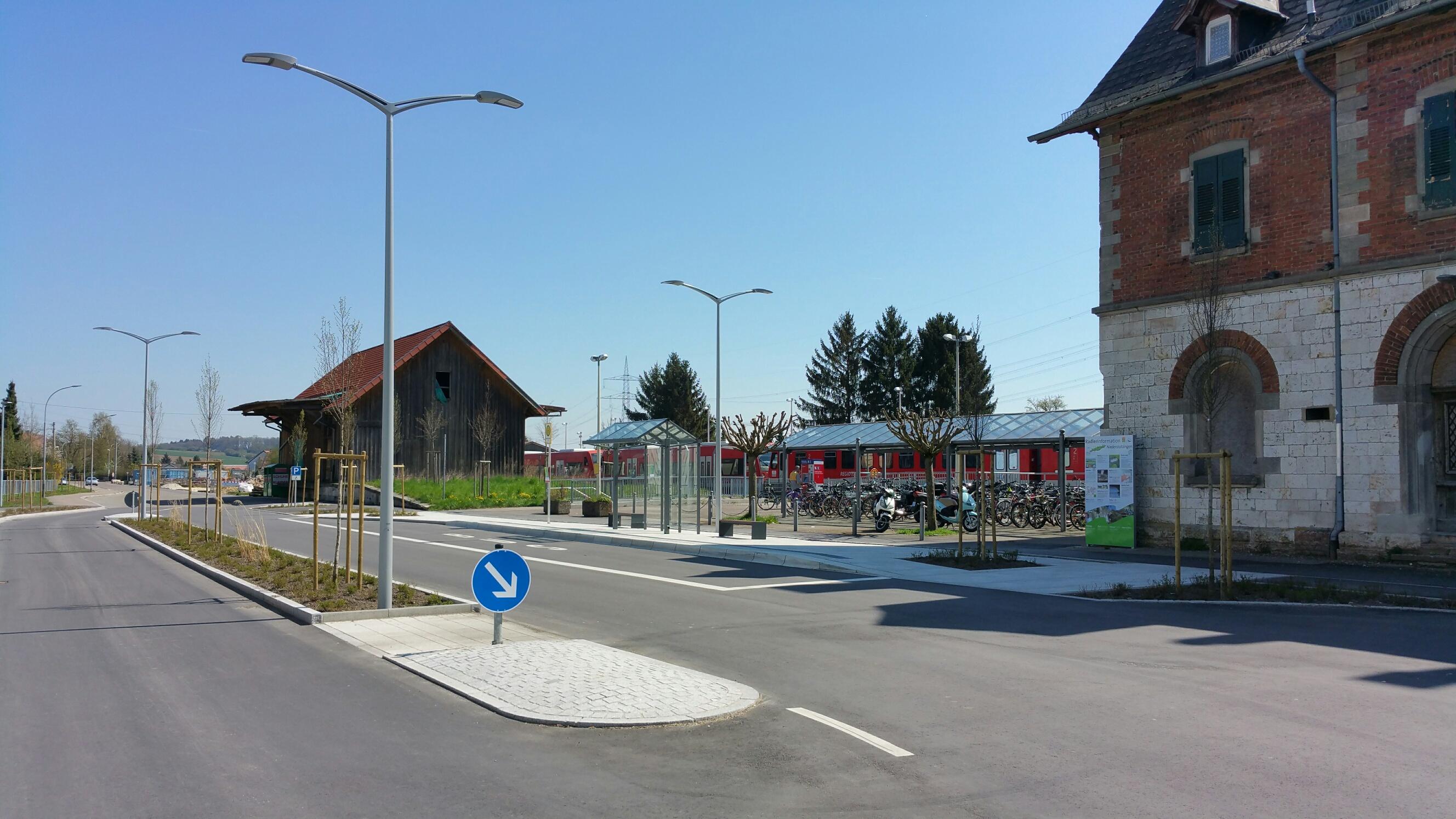 Einweihung Bahnhofsvorplatz
