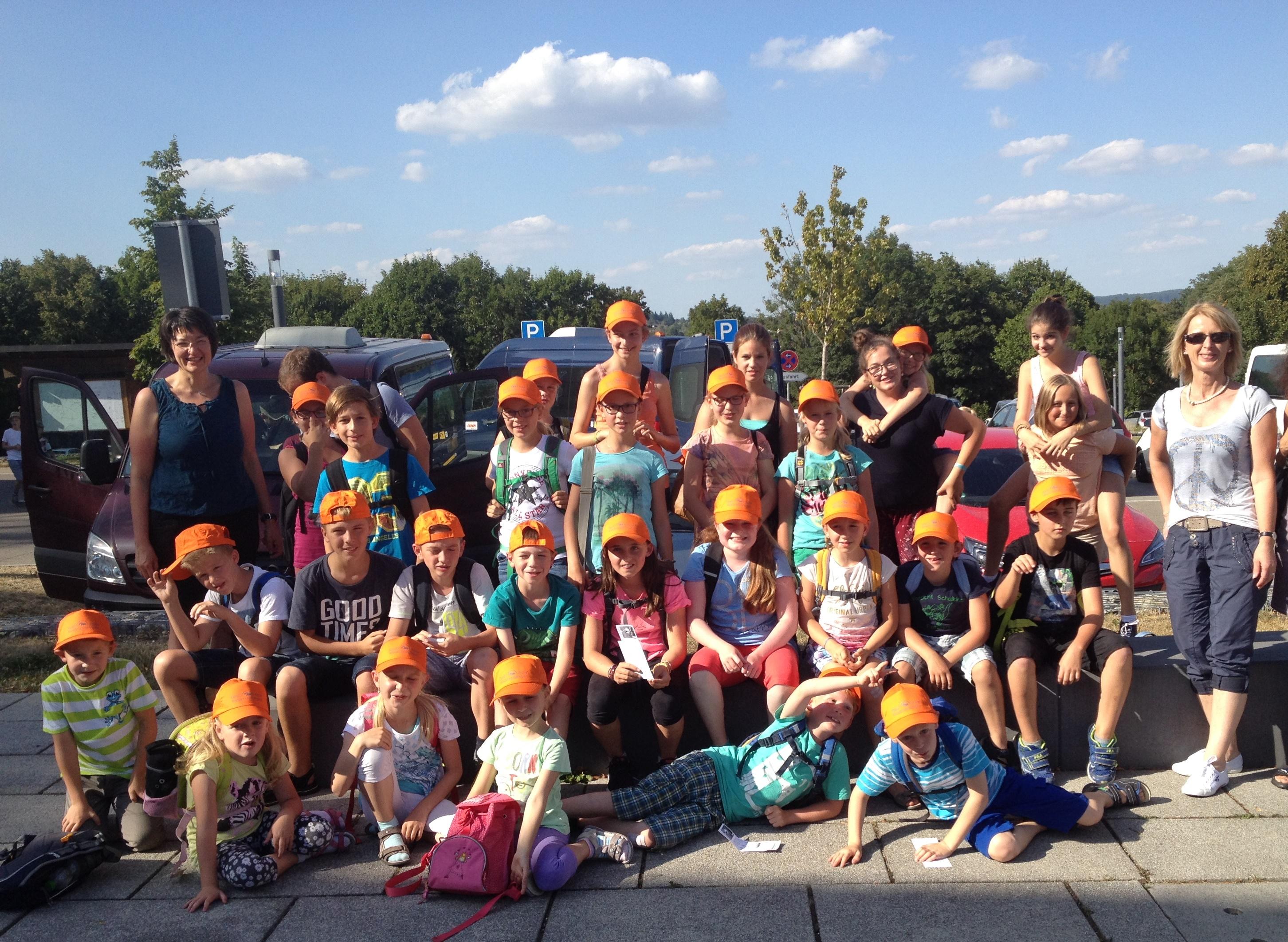 Gruppenbild Sommerferienprogramm 2015