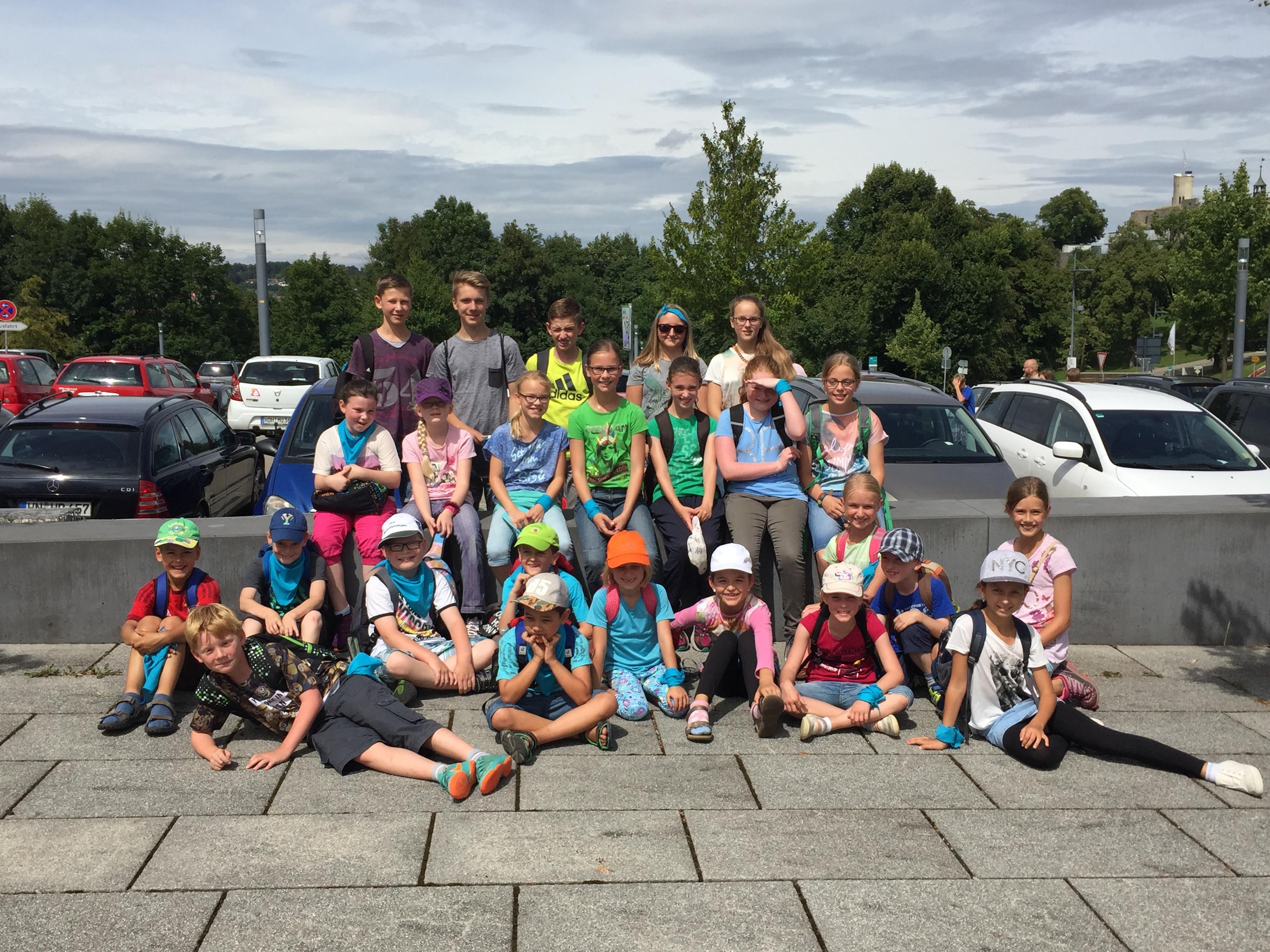 Gruppenbild Sommerferienprogramm 2016