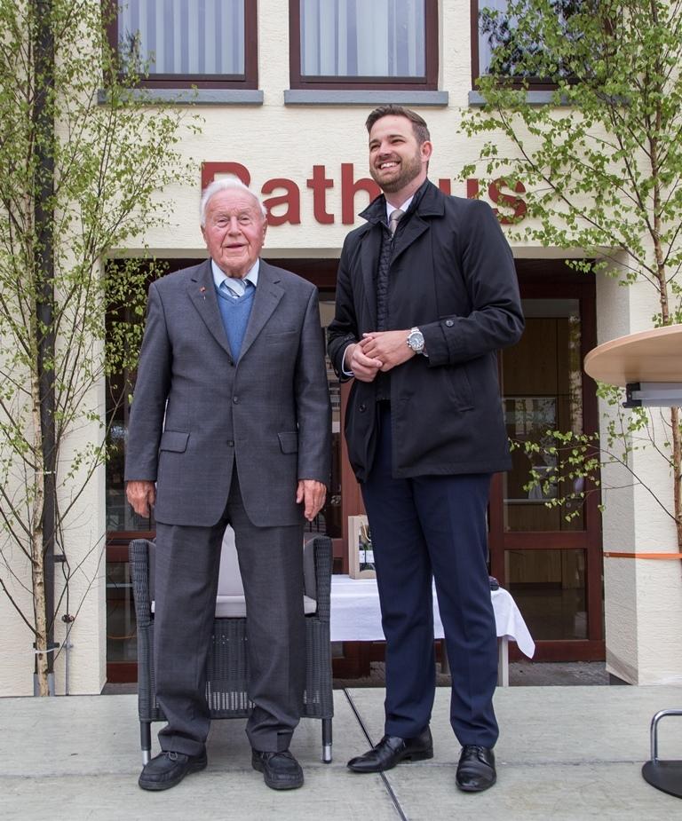 Geburtstag Altbürgermeister Kurt Gekeler