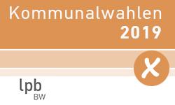 """Link zum Wahlportal """"Kommunalwahl 2019"""""""